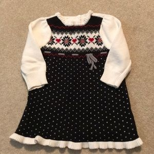 Gymboree baby girl sweater dress